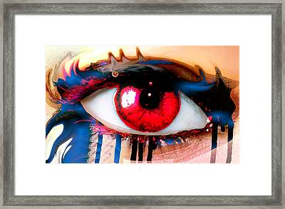 Window Of The Soul - Love Framed Print by Eleigh Koonce