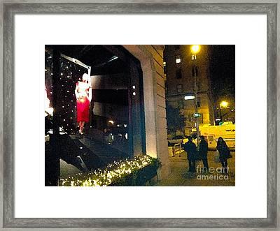 Window Power Framed Print by Robert Jonathan