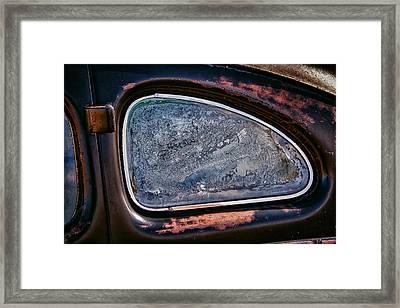 Window Framed Print by Richard Steinberger