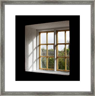 Window  Framed Print by Semmick Photo