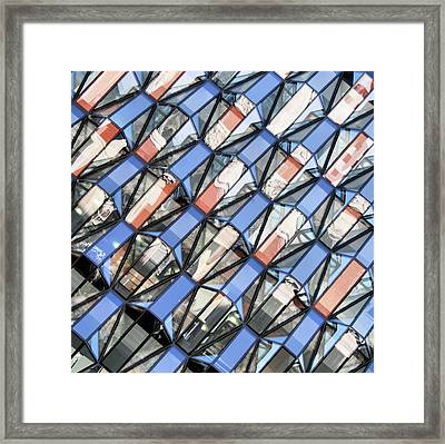 Window Shopping Framed Print by Andrea Kennard Photography