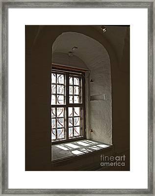 Window Sobor Framed Print by Yury Bashkin