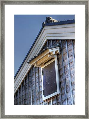 Framed Print featuring the photograph Window by Tad Kanazaki