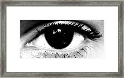 Window To My Soul Framed Print by Jason Michael Roust