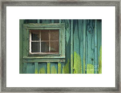 Window To The Past - D007898 Framed Print