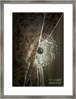 Window Treatment Framed Print