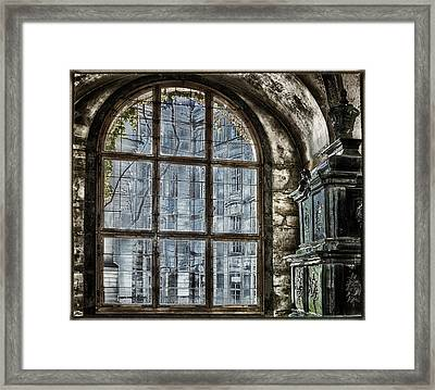 Window With A View Framed Print