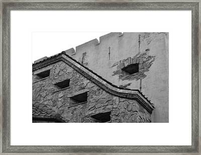 Windowed Wall Framed Print by Bonnie Myszka