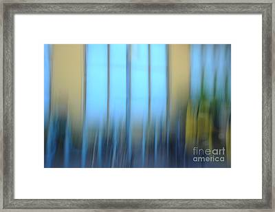 Windows And Walls Framed Print by Catherine Lau