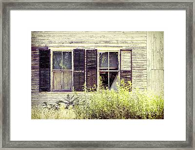 Windows Framed Print by HD Connelly