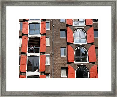 Windows Framed Print by Jill Pro