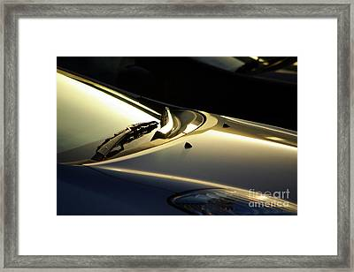 Windshield Wiper Framed Print by Carlos Caetano