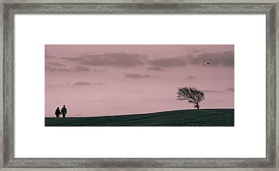 Windswept Framed Print by Justin Albrecht