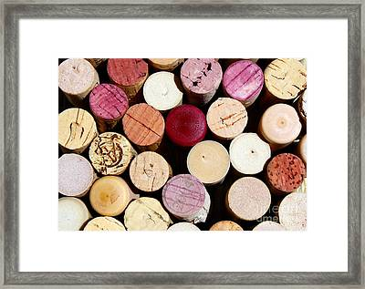 Wine Corks 3 Framed Print