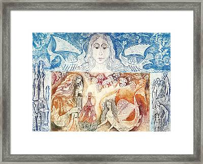 Wine Road Framed Print by Milen Litchkov