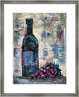 Wine Still Life 1 Framed Print