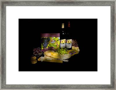 Wine Time Framed Print by Stan Williams