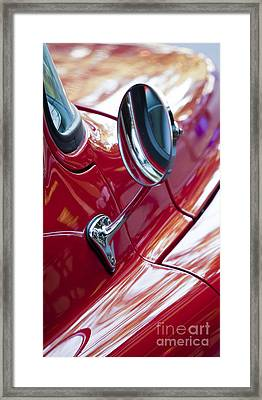 Wing Mirror Framed Print by Chris Dutton