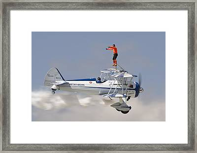 Wing Walker Framed Print by Eric Miller