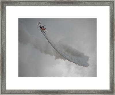 Wing Walker Framed Print by Randy J Heath