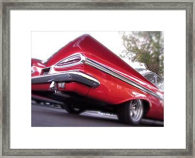 Winged Impala Framed Print by Terry Zeyen
