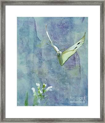 Winging It Framed Print by Betty LaRue