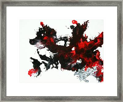 Wings Of Fire Framed Print