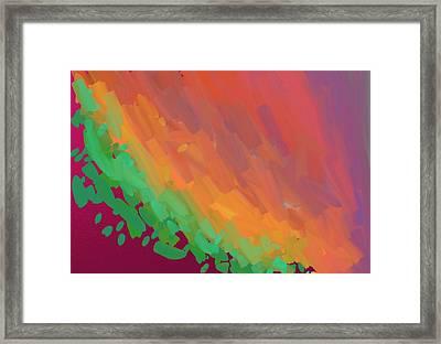 Wingspan Of The Phoenix Framed Print