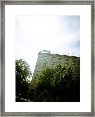 Winnipeg Artspace Framed Print by Michael Knight