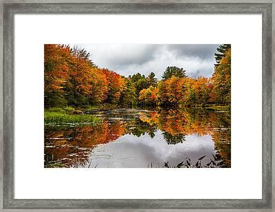 Winnipesaukee River Framed Print by Robert Clifford