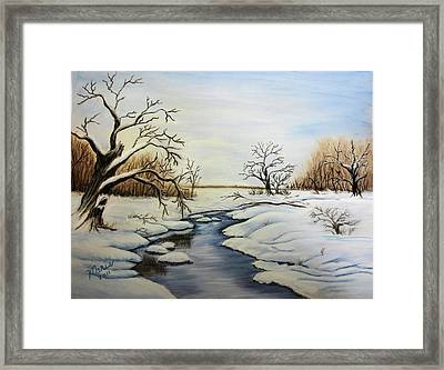 Winter 2011 Framed Print by Maris Sherwood