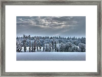 Winter At France Framed Print by Dominique Guillaume est un Auteur-Photographe