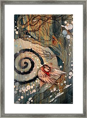 Winter Becoming Framed Print