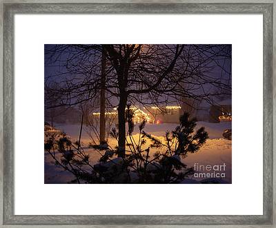 Winter Charm Framed Print
