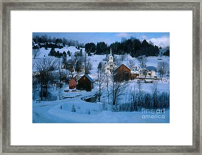 Winter Countryside Framed Print by Photo Researchers