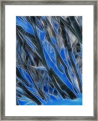 Winter Crystals Framed Print