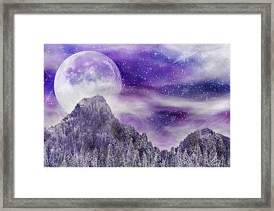 Winter Dreamscape Framed Print by Anthony Citro