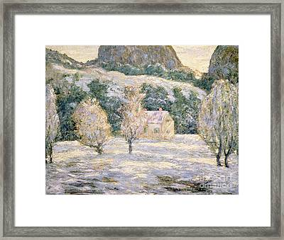 Winter Framed Print by Ernest Lawson