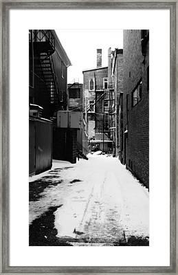 Winter Escape Framed Print by Jonathan Bateman