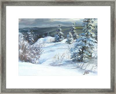 Winter Escape Framed Print by Patricia Seitz