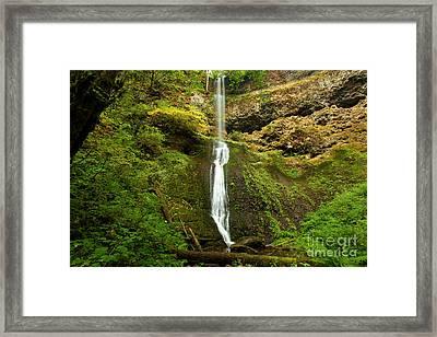 Winter Falls Framed Print by Adam Jewell