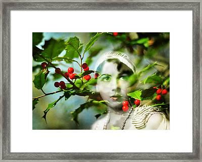 Winter Fancies Framed Print by Rebecca Sherman