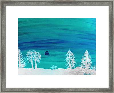 Winter Glow Framed Print by Jeannie Atwater Jordan Allen
