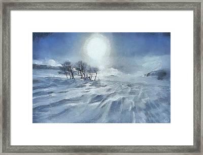 Winter Framed Print by Gun Legler