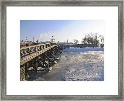 Winter In Peterburg Framed Print by Yury Bashkin