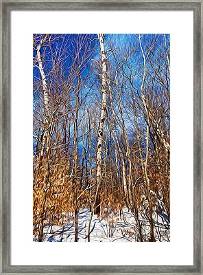 Winter Landscape I Framed Print