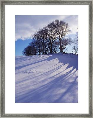 Winter Landscape Framed Print by The Irish Image Collection