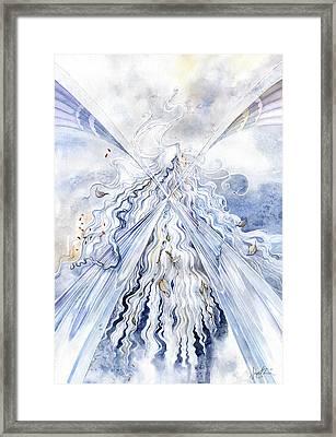 Winter Light Framed Print by Janet Chui