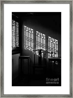 Framed Print featuring the photograph Winter Light by Vicki DeVico