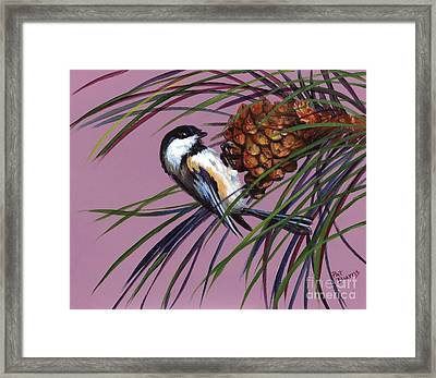 Framed Print featuring the painting Winter by Pat Burns